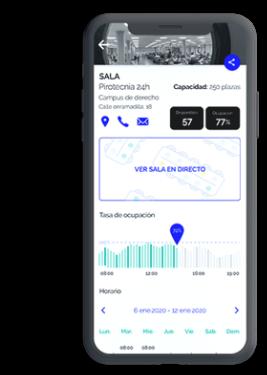 App Monitorización de espacios