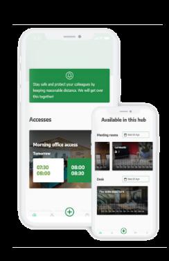 App gestión de reservas salas