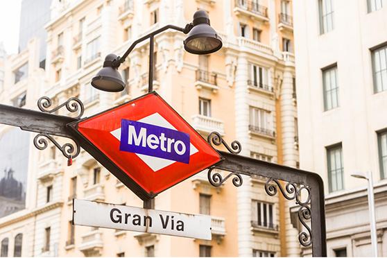 señalética metro